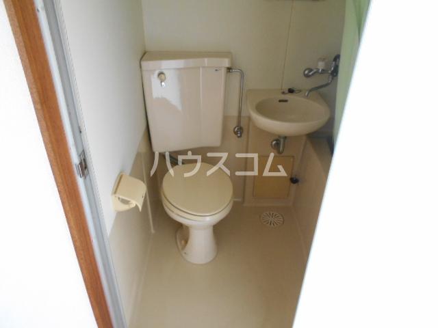 メゾンド二宮B 204号室のトイレ