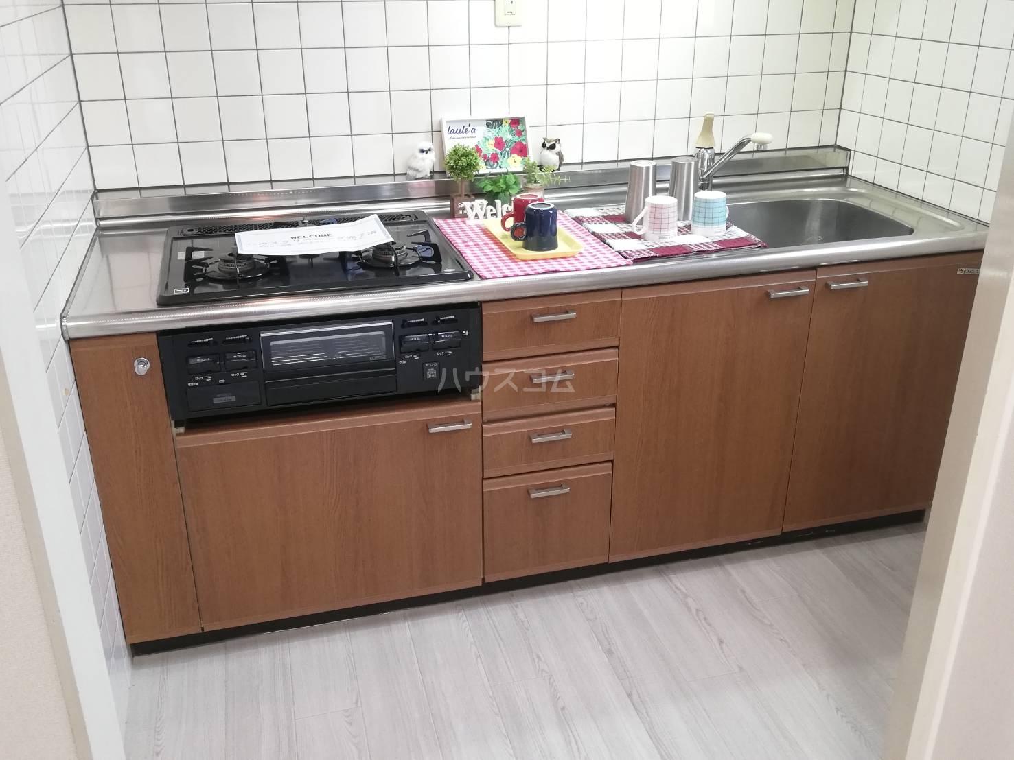 刈谷アルタイルのキッチン