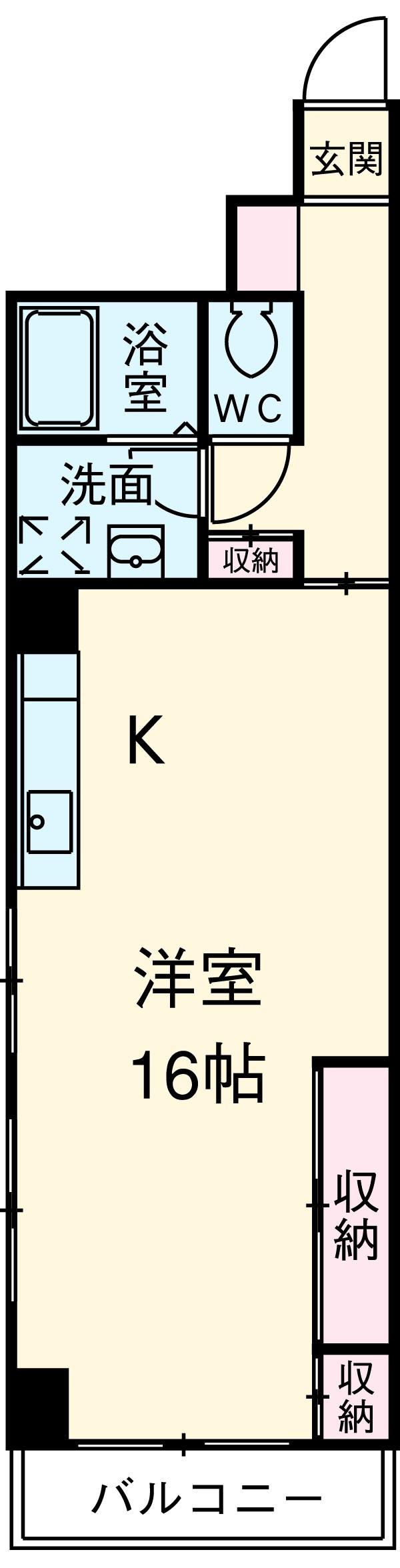 小石川播磨坂ハイツ・103号室の間取り