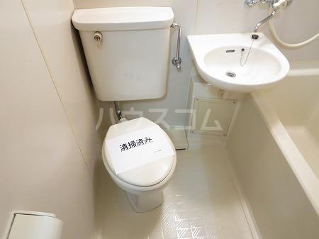 ハイツ永島 102号室のトイレ