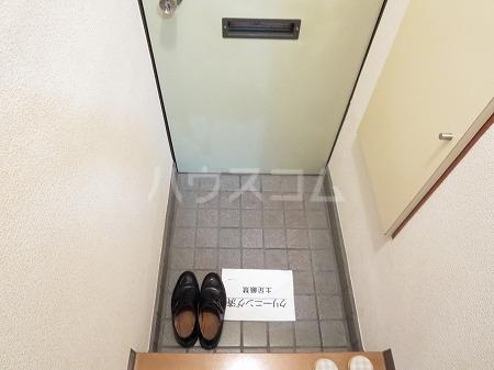 ハイツ永島 102号室の玄関