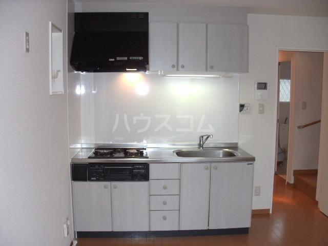 ESヒルズ E号室のキッチン