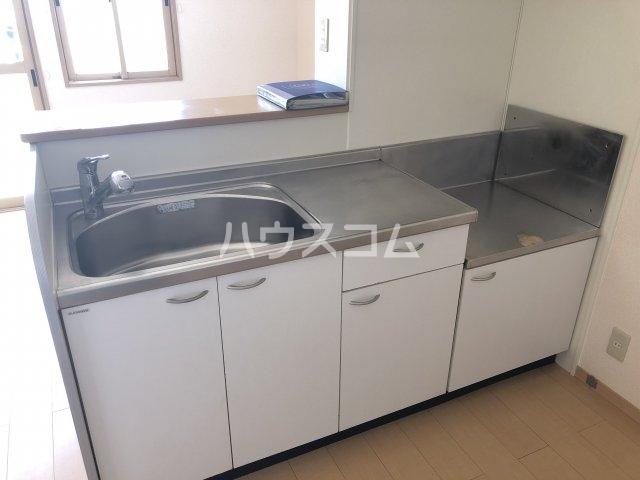 フォンテーヌⅡ 202号室のキッチン