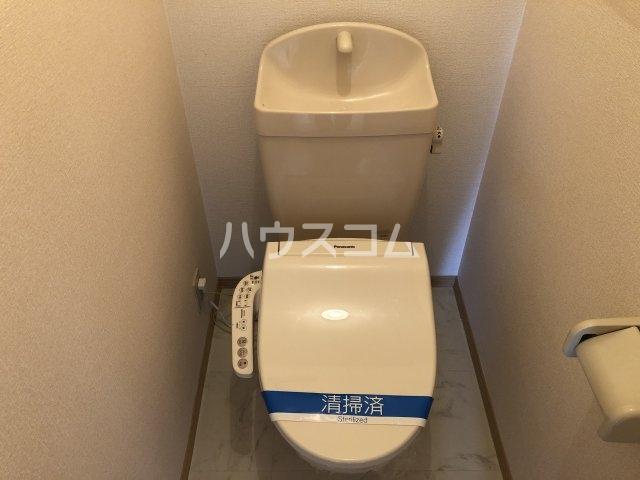 フォンテーヌⅡ 202号室のトイレ