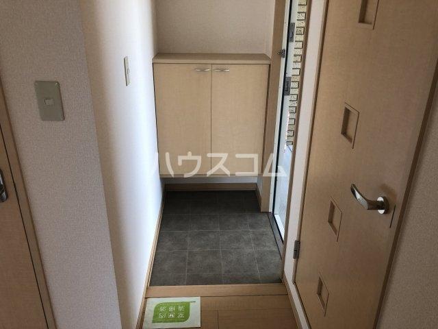 フォンテーヌⅡ 202号室の玄関