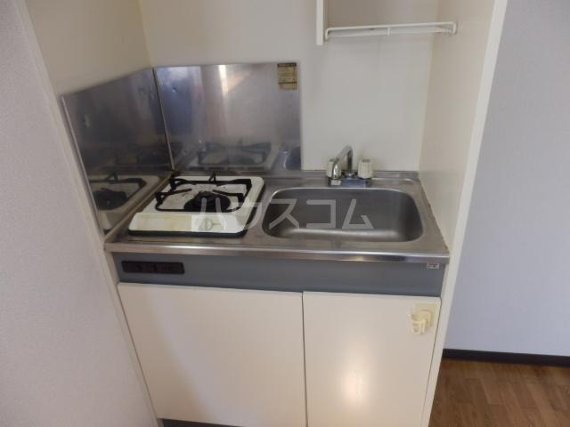 パールハイムⅠ 202号室のキッチン