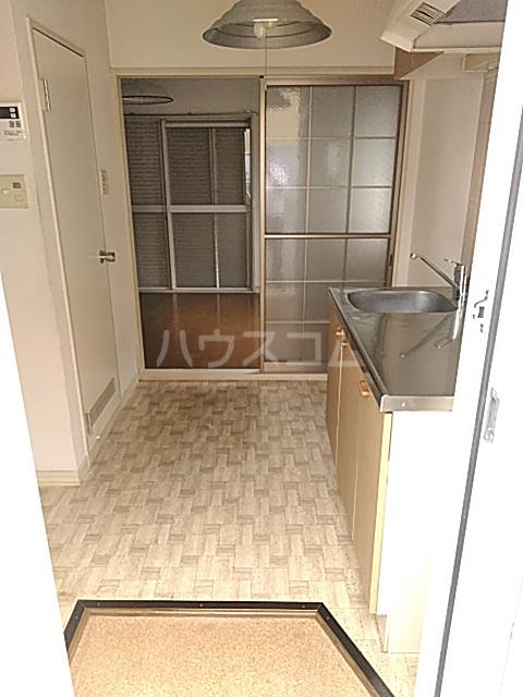 パークサイド駒沢 B-201号室の玄関