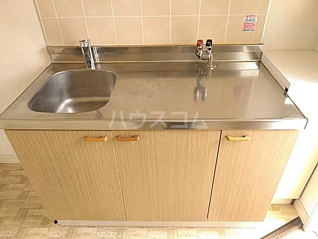 パークサイド駒沢 B-201号室のキッチン