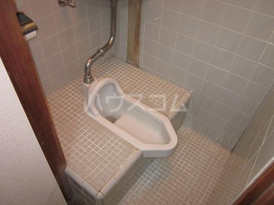 マルフミ荘 202号室のトイレ