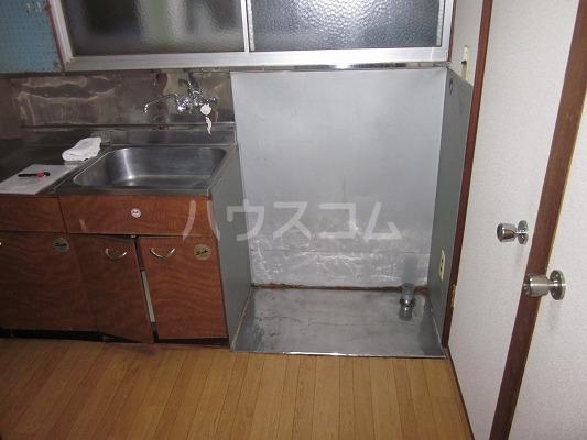 マルフミ荘 202号室の玄関