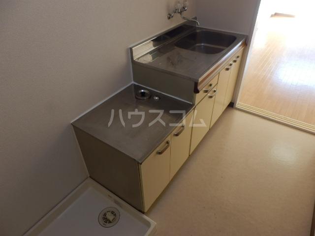 グリーンハイツ 107号室のキッチン