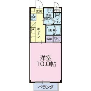 フラッツ巽ヶ丘東・103号室の間取り