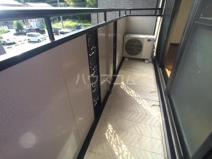 セジュールオリオンA 205号室のバルコニー