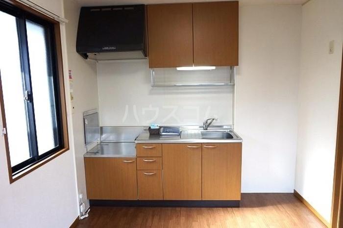 セジュールオリオンA 205号室のキッチン