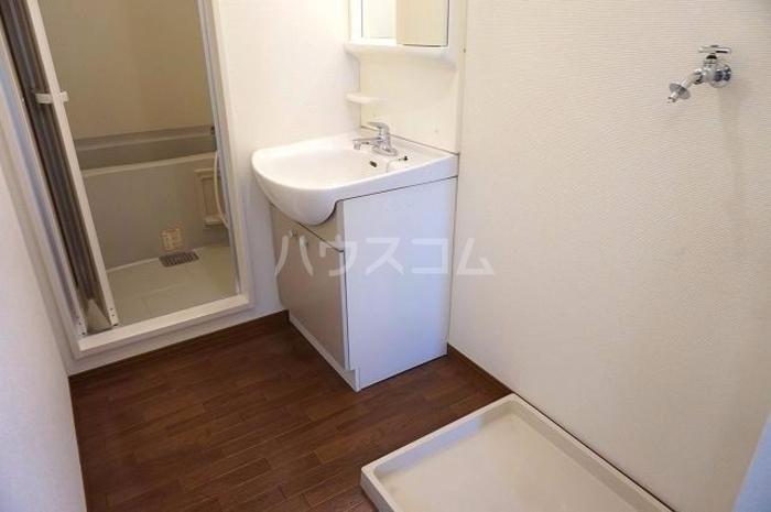 セジュールオリオンA 205号室の洗面所