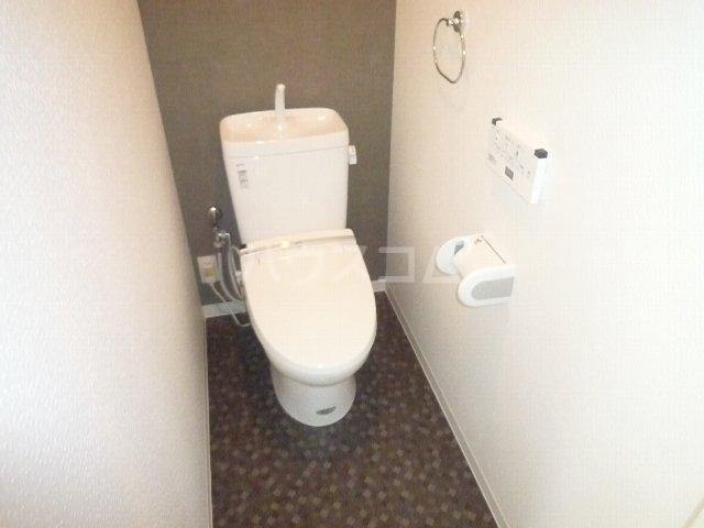 第一辻ビル 307号室のトイレ