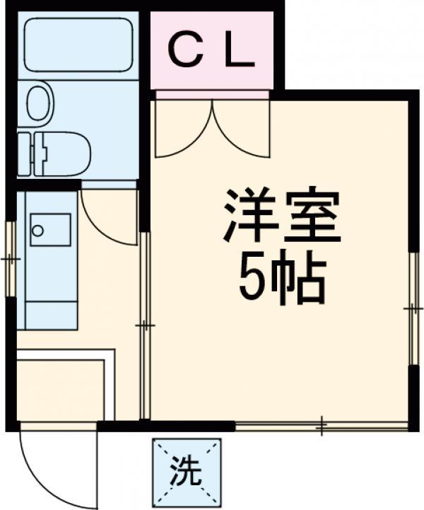 斉藤宅・101号室の間取り