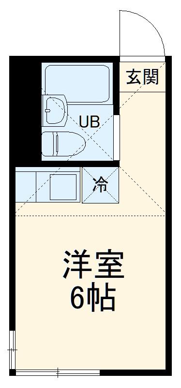 さくら横須賀中央・102号室の間取り