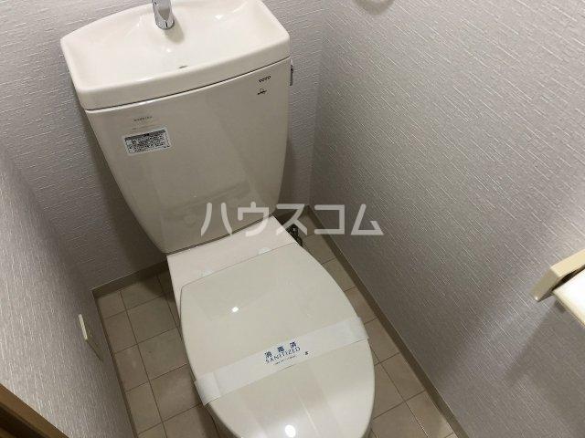 イデアーレ県立大学 101号室のトイレ
