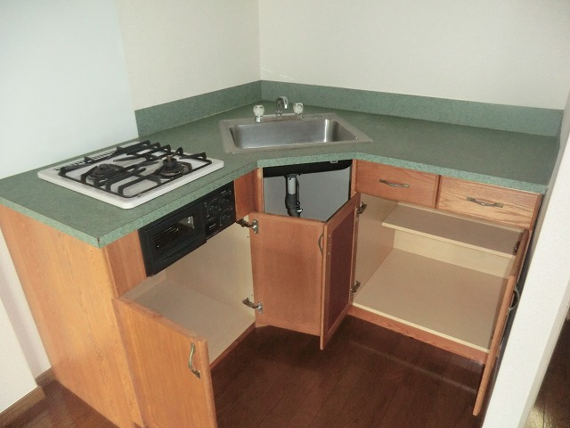 Pear House 105号室のキッチン