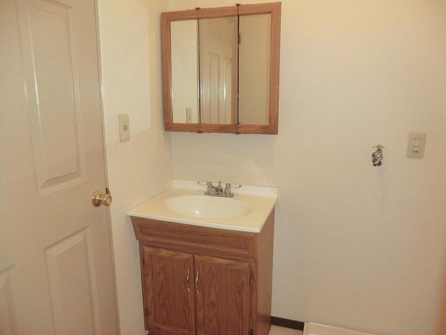 Pear House 105号室の洗面所