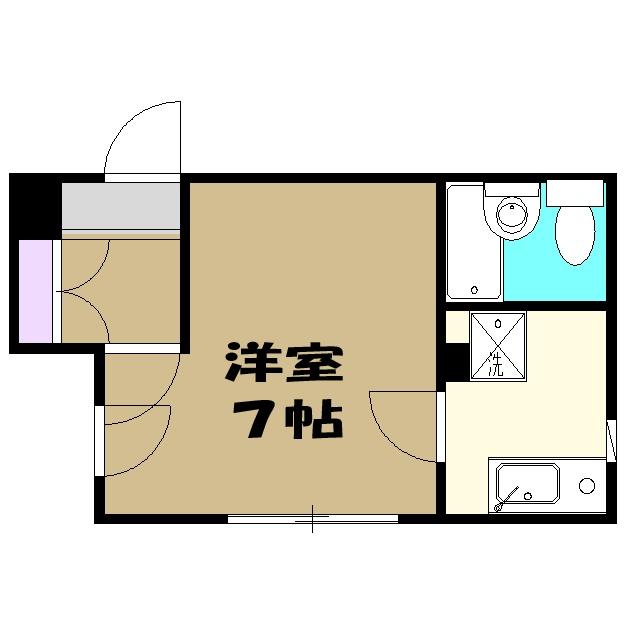 松島ビル 206号室の間取り