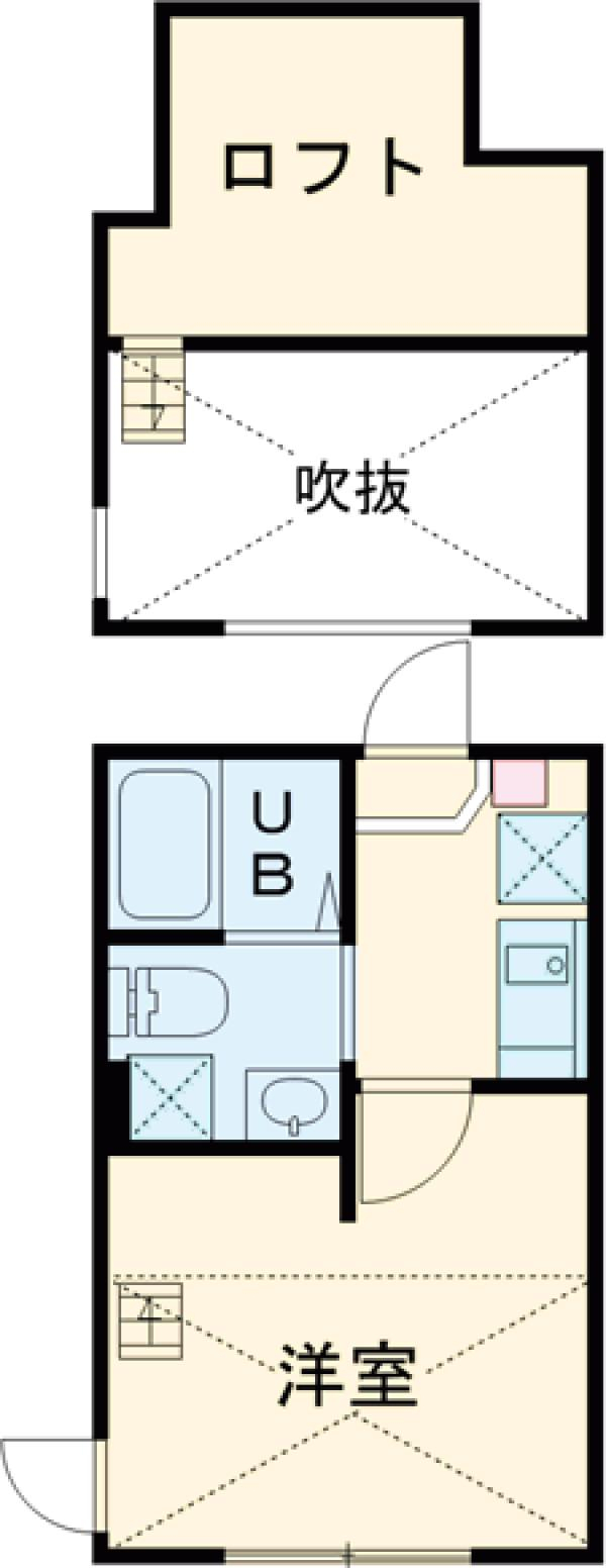 YOKOSUKA COAST RESIDENCE 202号室の間取り