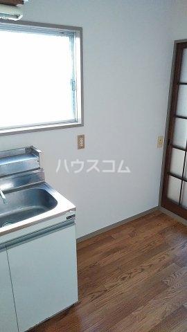 第二金子荘 101号室のキッチン