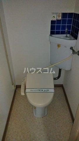 第二金子荘 101号室のトイレ