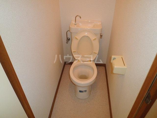 ユーハウス 107号室のトイレ