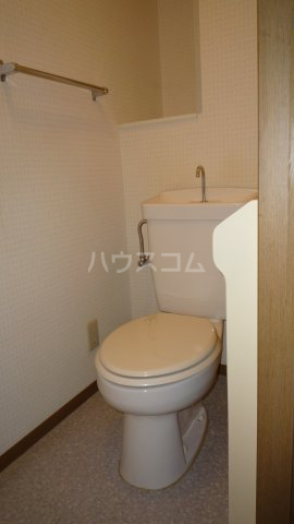 セジュール二本木A 203号室のトイレ