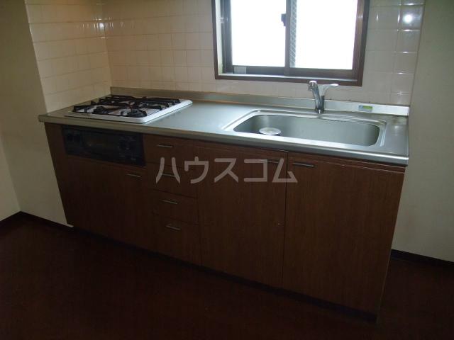 アルモニードエル 104号室のキッチン