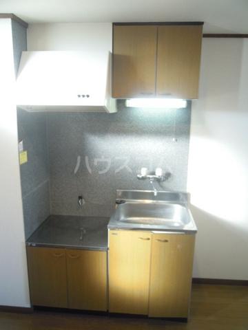 シティーハイツスイセン 102号室のキッチン