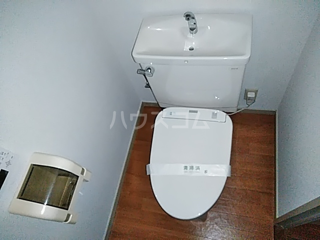 メゾンヴァンテアン 302号室のトイレ