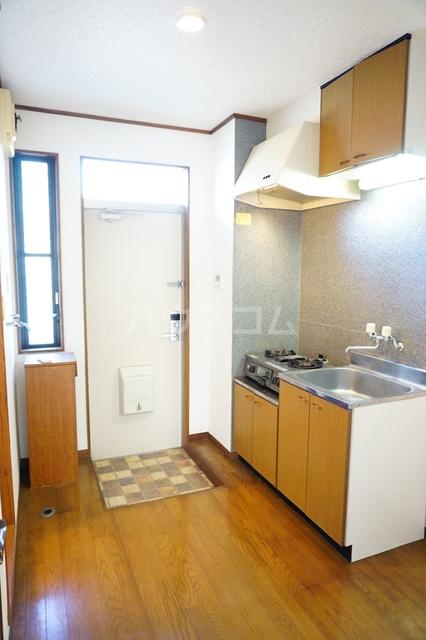 シティーハイツスイセン 207号室のキッチン