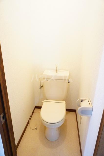 シティーハイツスイセン 207号室のトイレ