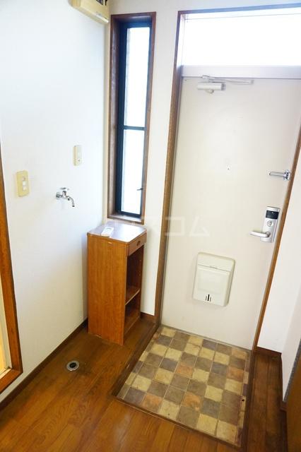 シティーハイツスイセン 207号室の玄関