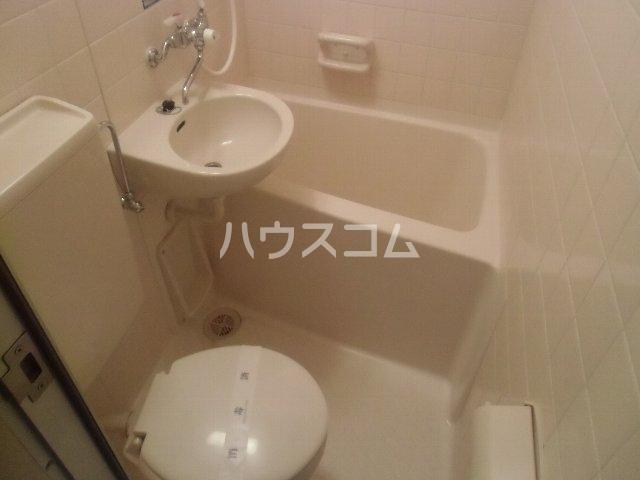 サンピア横須賀 602号室のトイレ