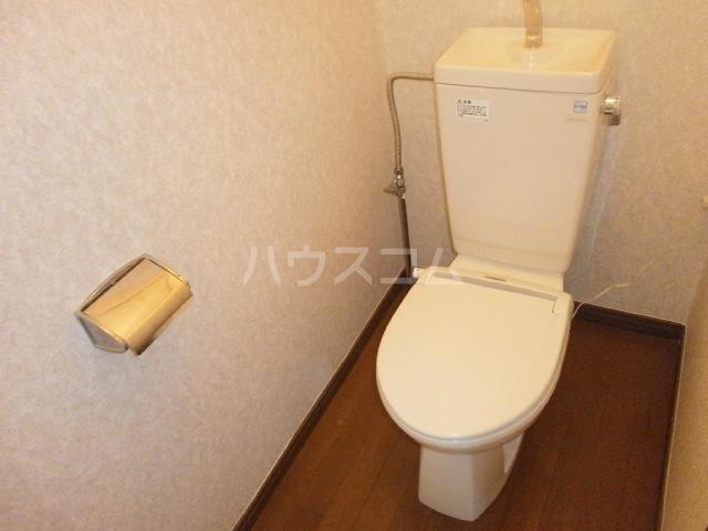 カントリーハイツ 201号室のトイレ