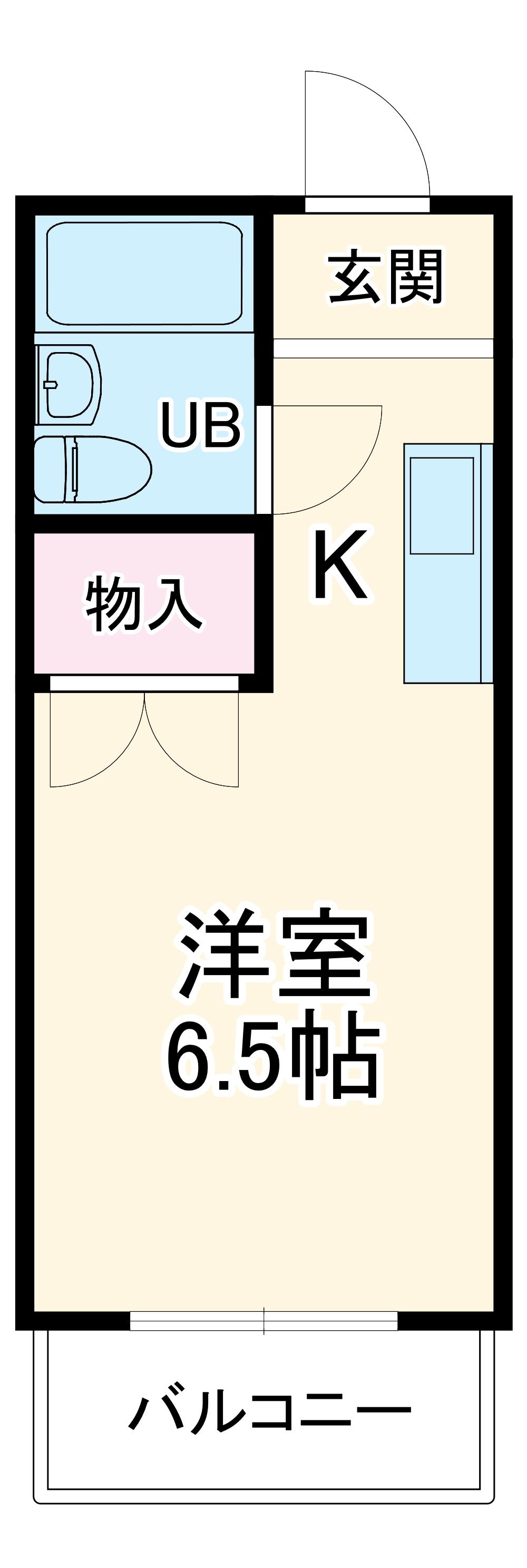 安城中央マンション鬼武第3ビル・502号室の間取り