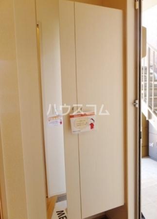 カーム・ハイツ 202号室の玄関