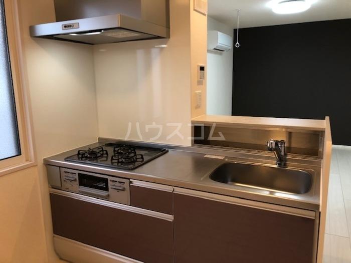 カーム・ハイツ 202号室のキッチン