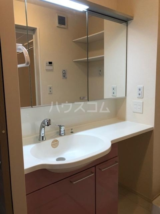 カーム・ハイツ 202号室の洗面所