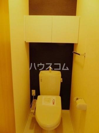 カーム・ハイツ 202号室のトイレ