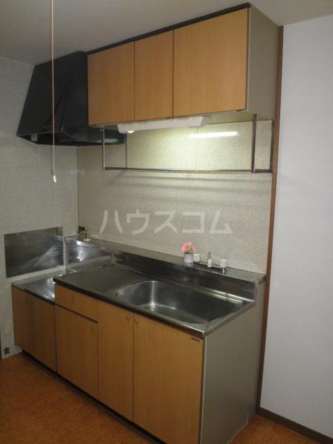 サープラス石塚A 201号室のキッチン