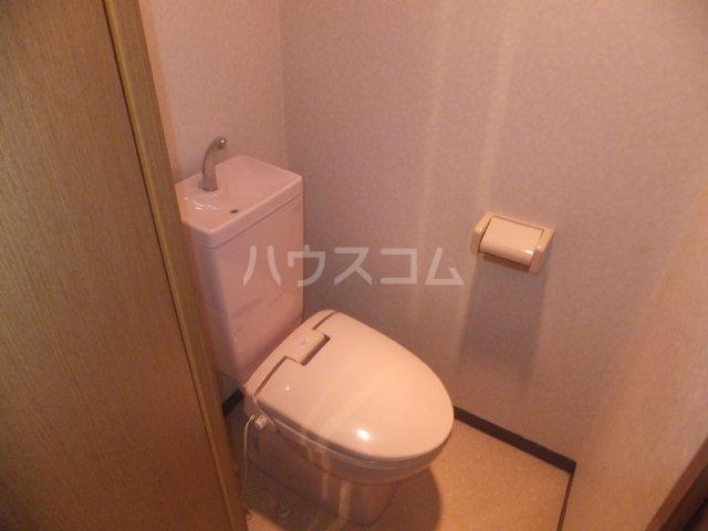 サンハイツ名取Ⅱ 1B号室のトイレ