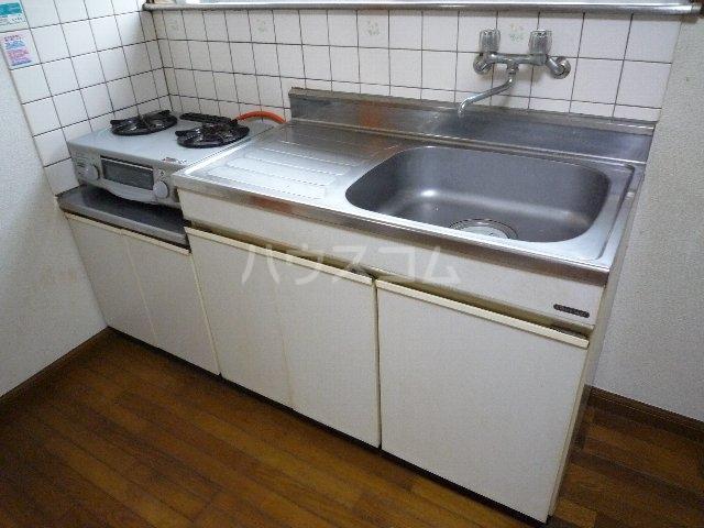 ハーベストマナー 104号室のキッチン
