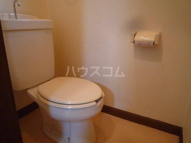 ハーベストマナー 104号室のトイレ