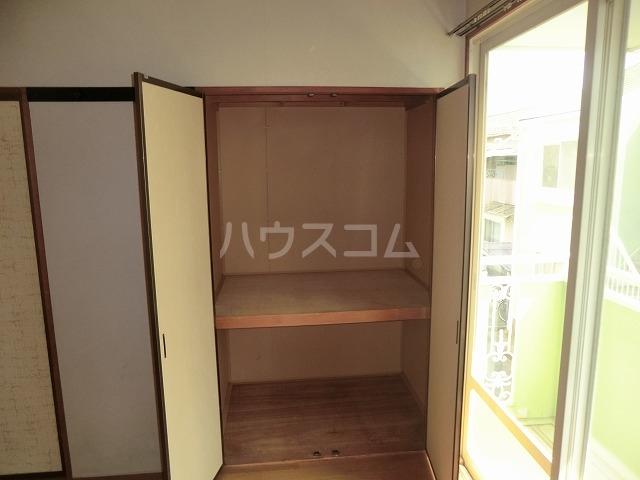ファミールかごたA 201号室のバルコニー