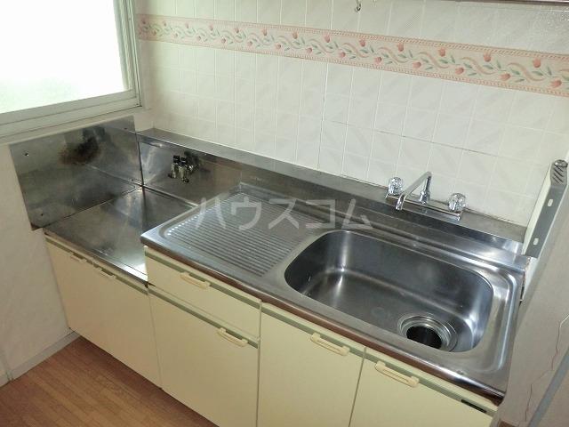ファミールかごたA 201号室のキッチン